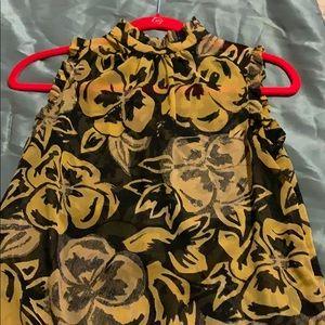 Shear blouse